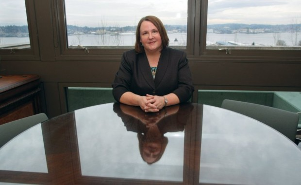 New Kitsap County Auditor Dolores Gilmore started at the auditor's office 30 years ago in a temporary job through a welfare work program. (LARRY STEAGALL / KITSAP SUN)